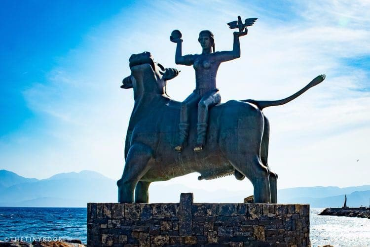 The Abduction of Europa, Agios Nikolaos