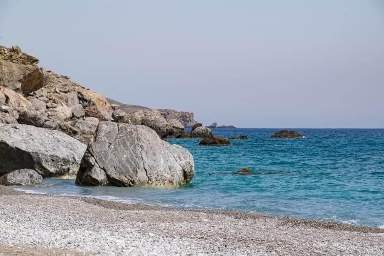 Glyka nera Beach, Sfakia, Crete)