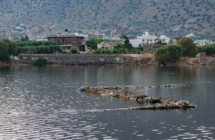 Sunken city of Olous.