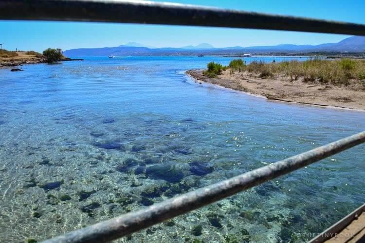 Perastikos river, Georgioupolis