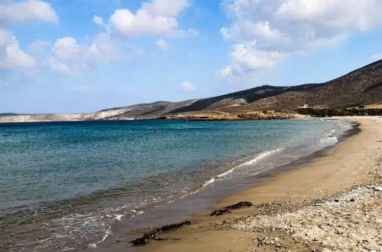 Xiona (Chiona) beach in Lasithi, Crete