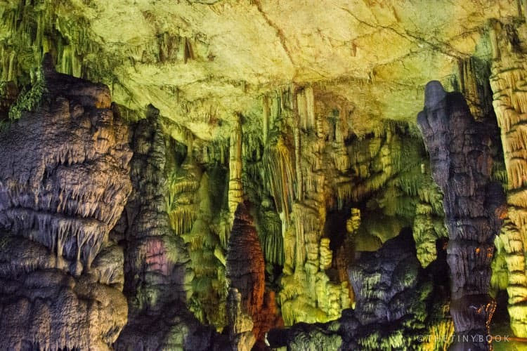 Psychro cave formations