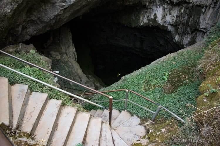 Zeus Cave entrance