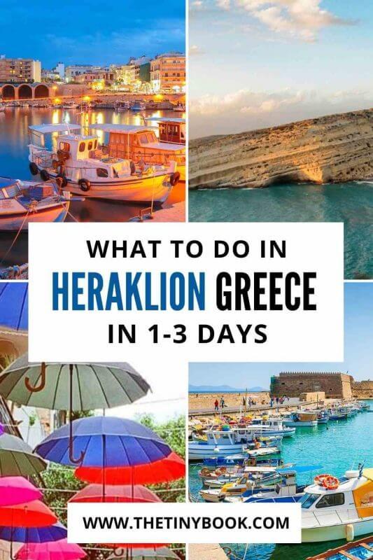 Short break in Heraklion, Crete