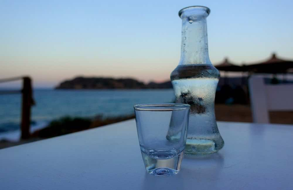 GREECE - CRETE - BOTTLE OF RAKI
