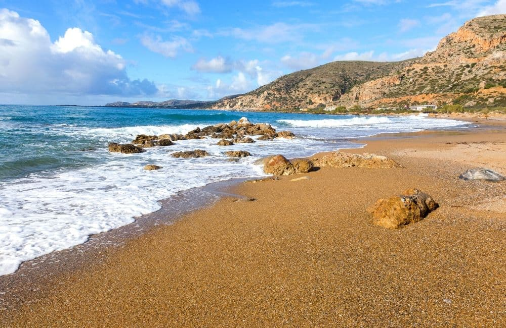 Paleochora, Sea, Beach, Sand, Crete