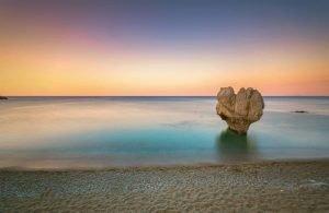 GREECE - CRETE - PREVELI BEACH - ROCK