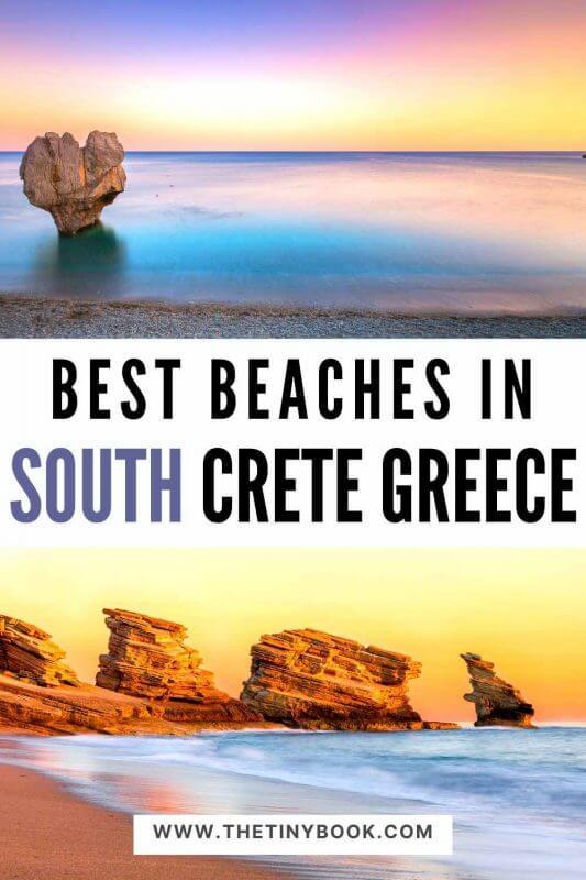 Best beaches in South Crete