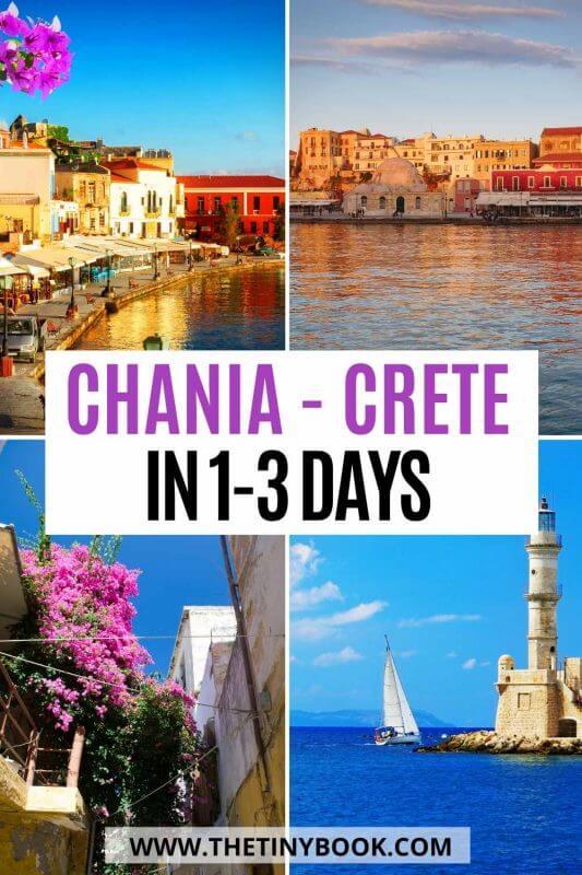 Short itinerary of Chania, Crete