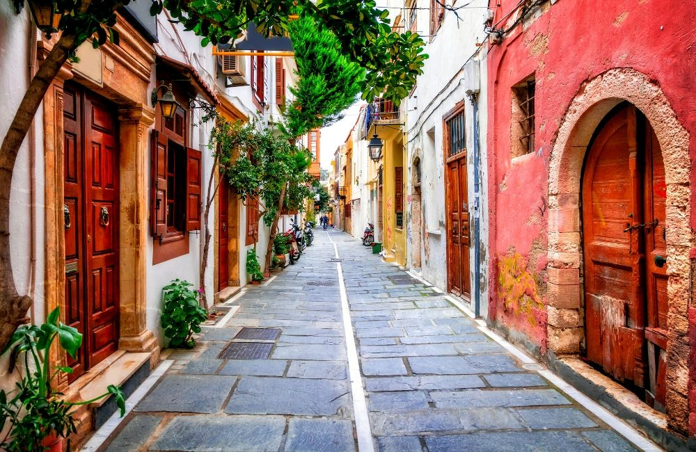 GREECE - CRETE - CHANIA - OLD TOWN