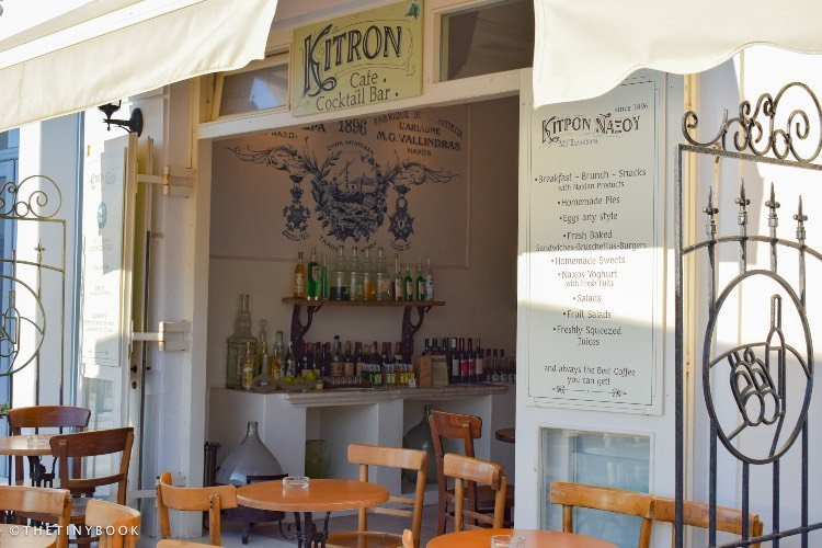 Kitron Bar Naxos