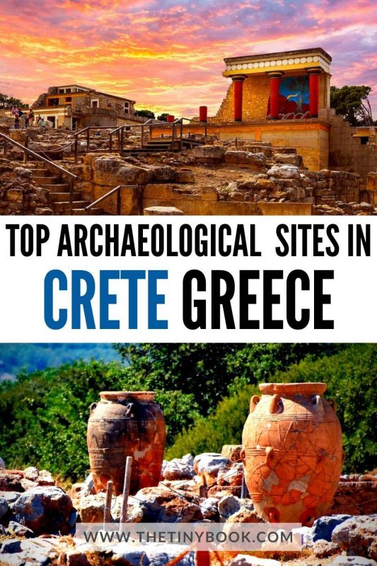 Archaeological sites you should not miss in Crete, Greece