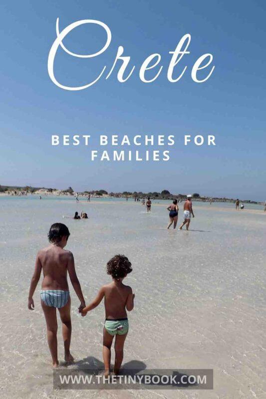 Kid-friendly beaches in Crete, Greece