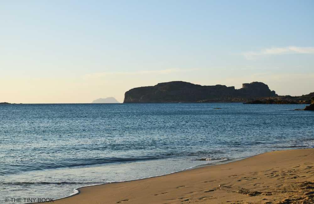 Falassarna beach