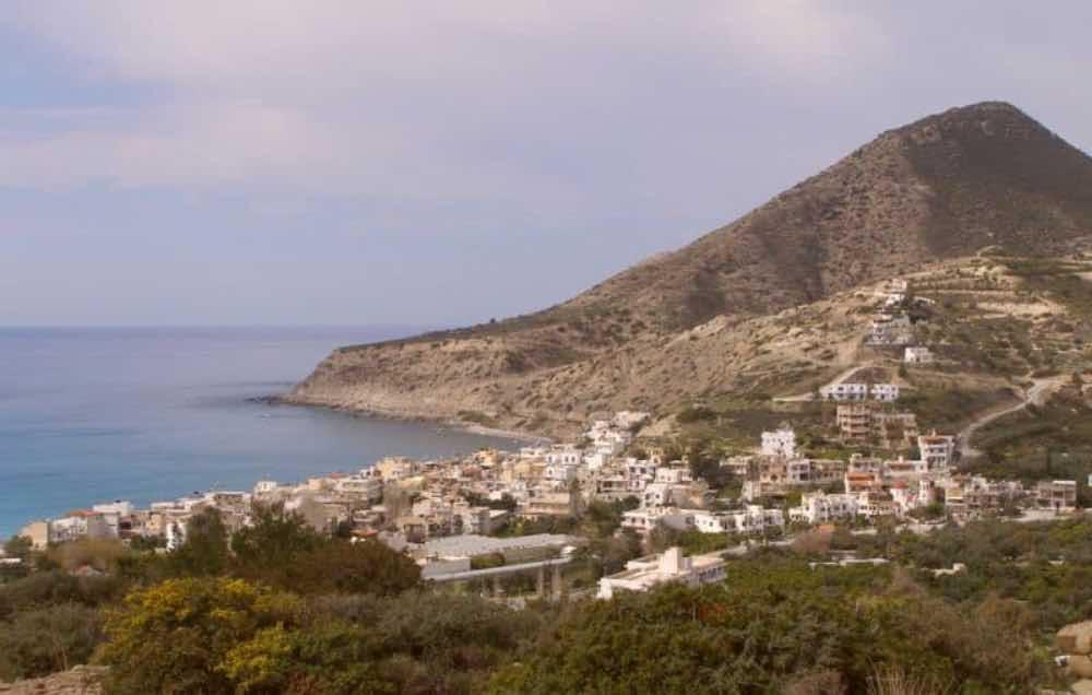 GREECE - CRETE - LASITHI - MYRTOS