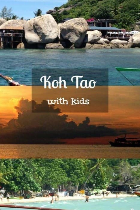 Thailand, Koh Tao with kids
