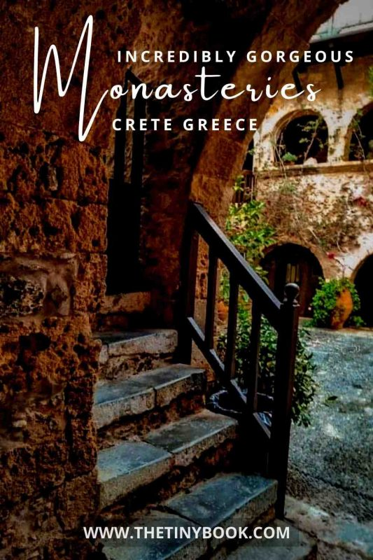 Beautiful monasteries to visit in Crete, Greece