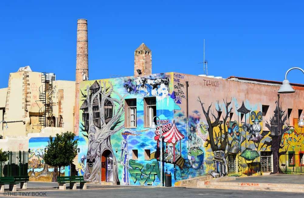grafitti, Rethymnon, Crete