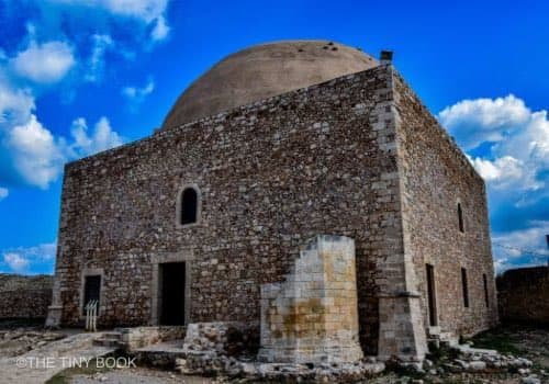 mosque, domed roof, Rethymnon Crete
