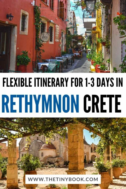 3 Days in Rethymnon Itinerary