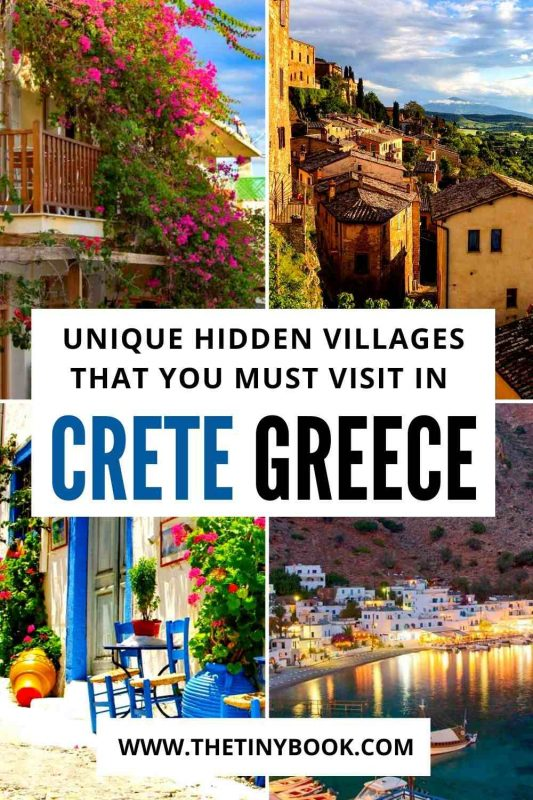 Gorgeous villages to visit in Crete, Greece