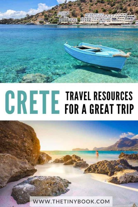 Best travel resources to plan a trip to Crete, Greece.