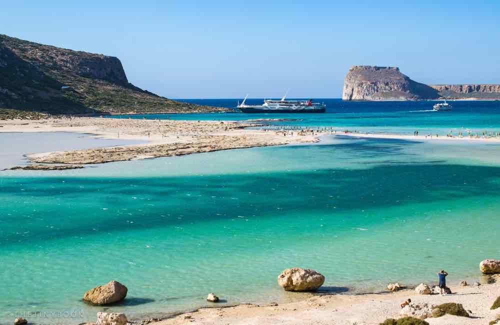 sea, beach, sand, Crete