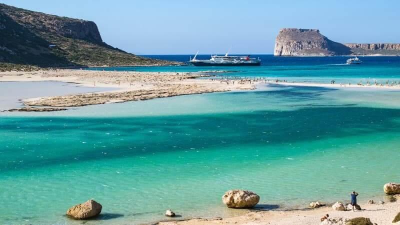 Green water, beach, extic beach