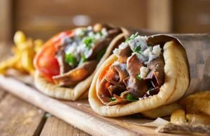 GREECE - CRETE - GYRO WRAP