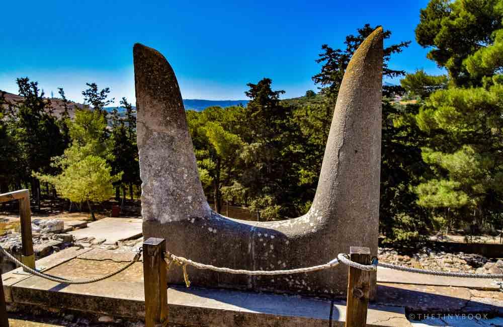 Minoan Horns, Minoan Palace, Crete