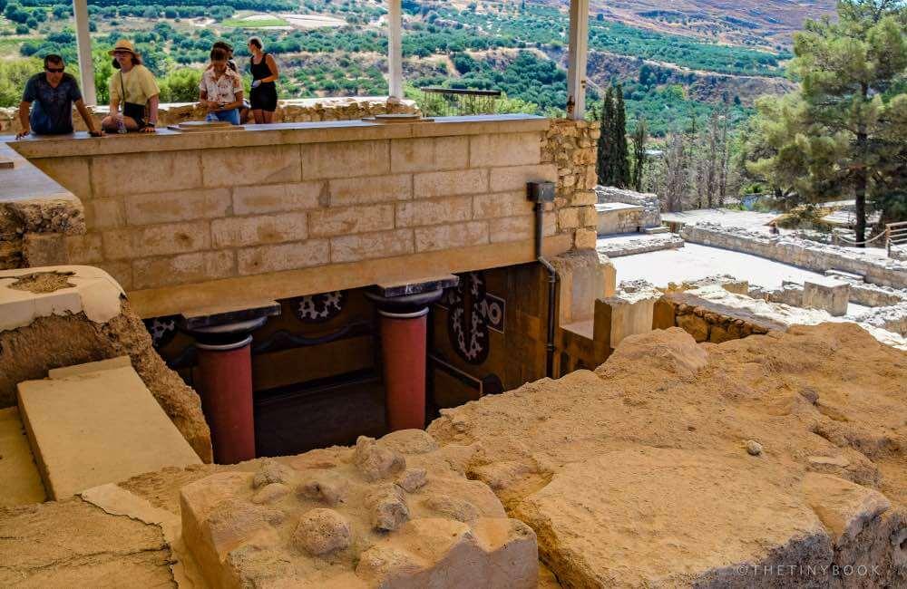 Ancient settlement, Knossos, Crete