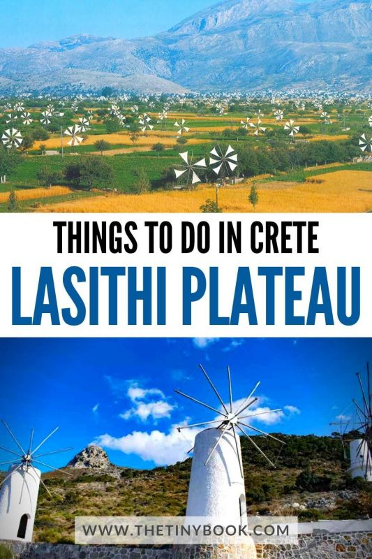 Things to do in Crete: Discover the Lasithi Plateau