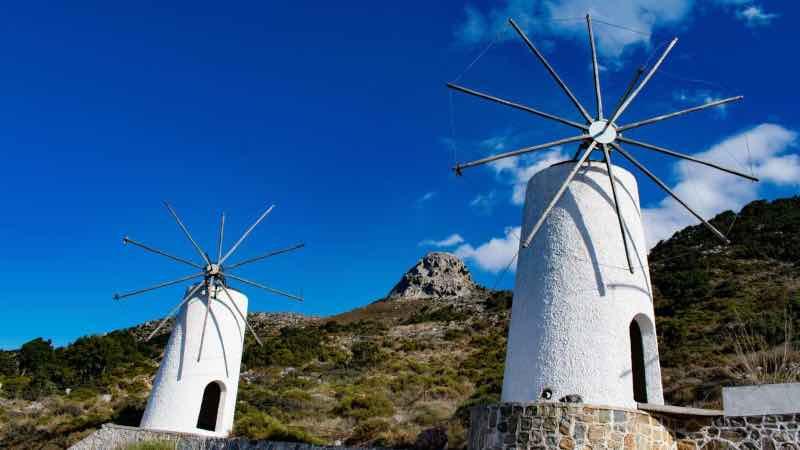 windmills Crete