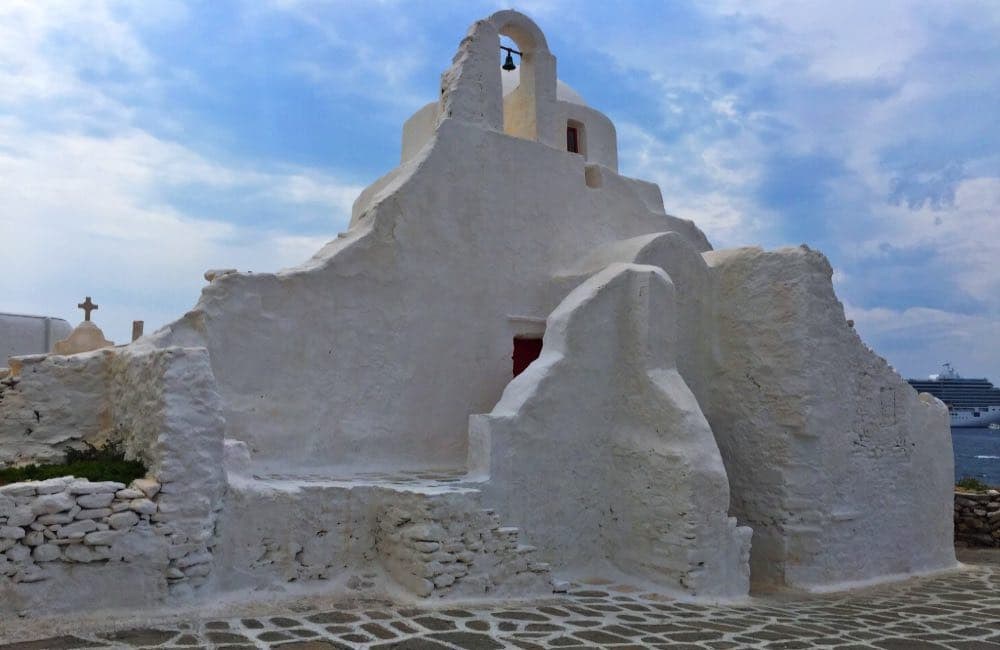 Panagia Paraportiani Church, Mykonos, Greece