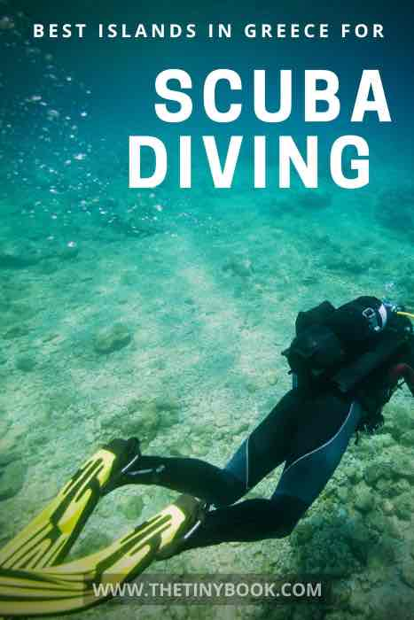 Best spots in Greece for scuba diving