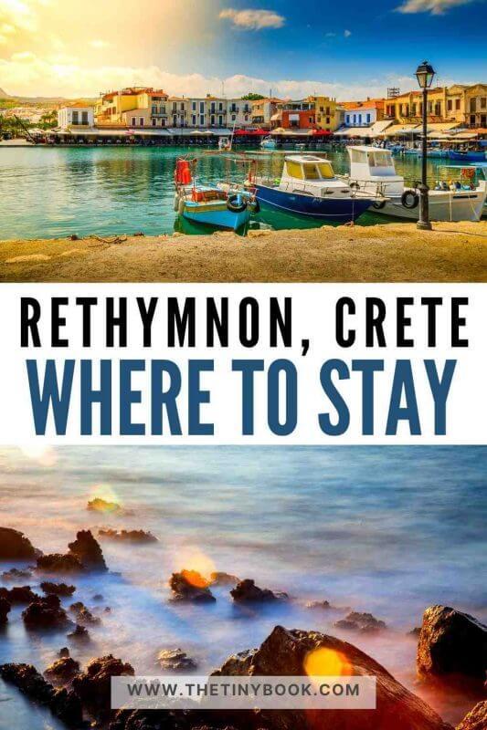 Best accommodation in Rethymnon, Crete.