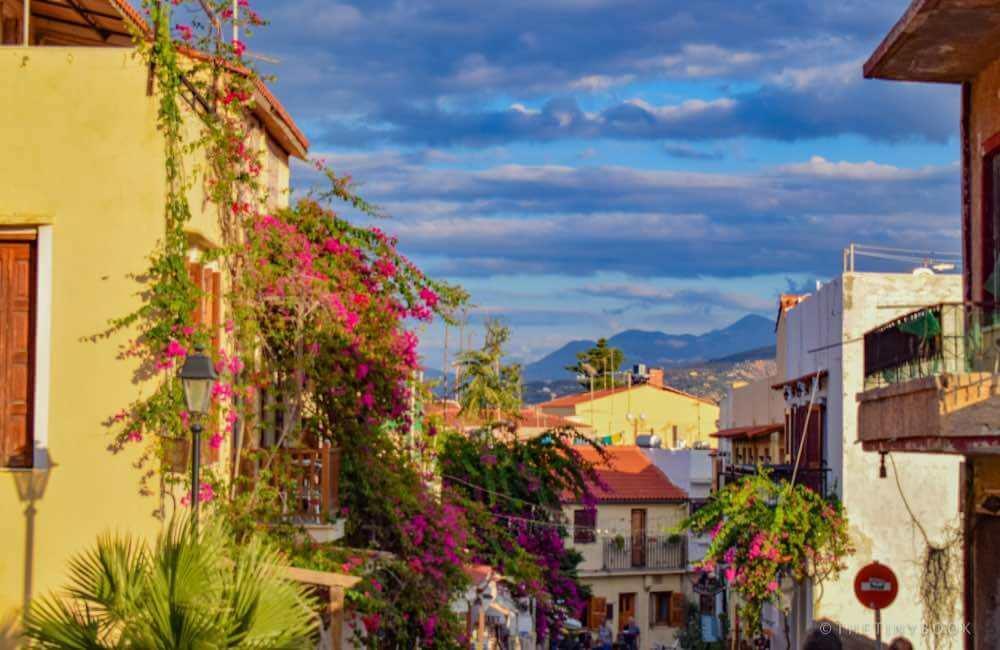 GREECE - CRETE - RETHYMNON - OLD TOWN