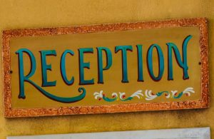 GREECE - CRETE - RETHYMNON - RECEPTION SIGN