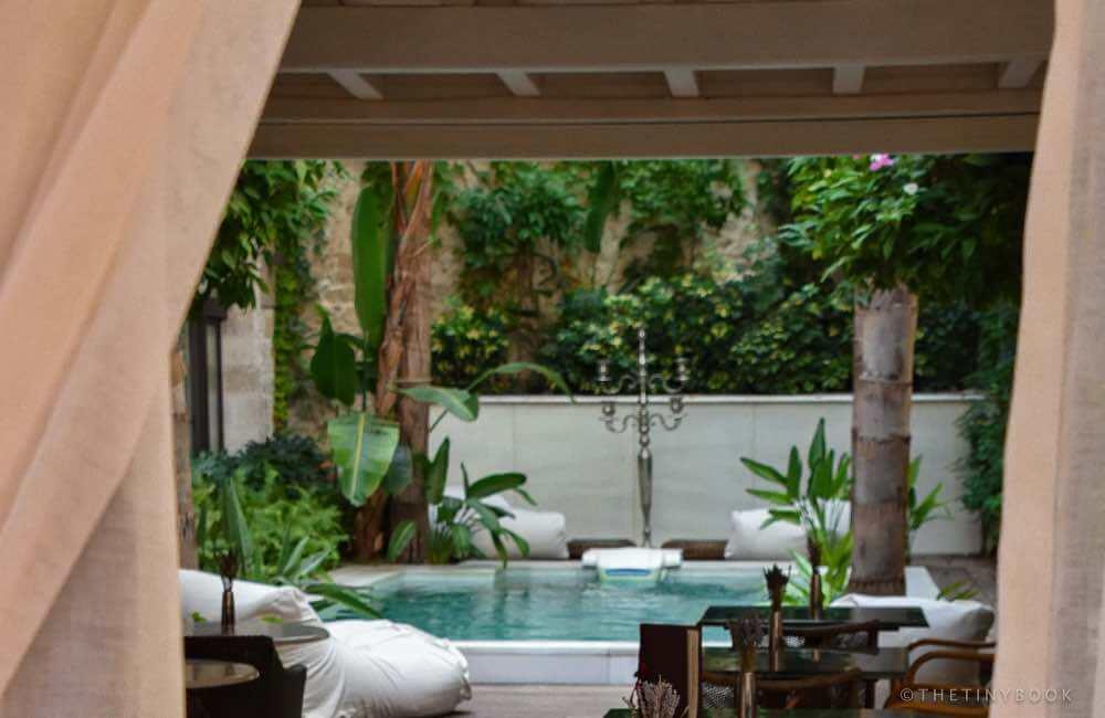 hotel, pool, Rethymnon, Crete