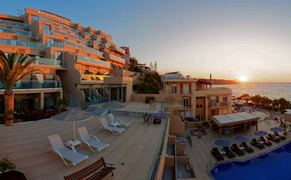 GREECE - CRETE - RETHYMNON - ARCHIPELAGOS HOTEL