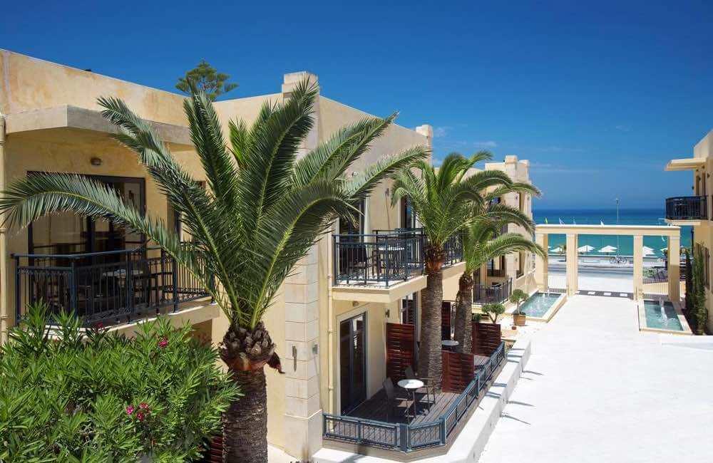 GREECE - CRETE - RETHYMNON - ATLANTIC BEACH HOTEL