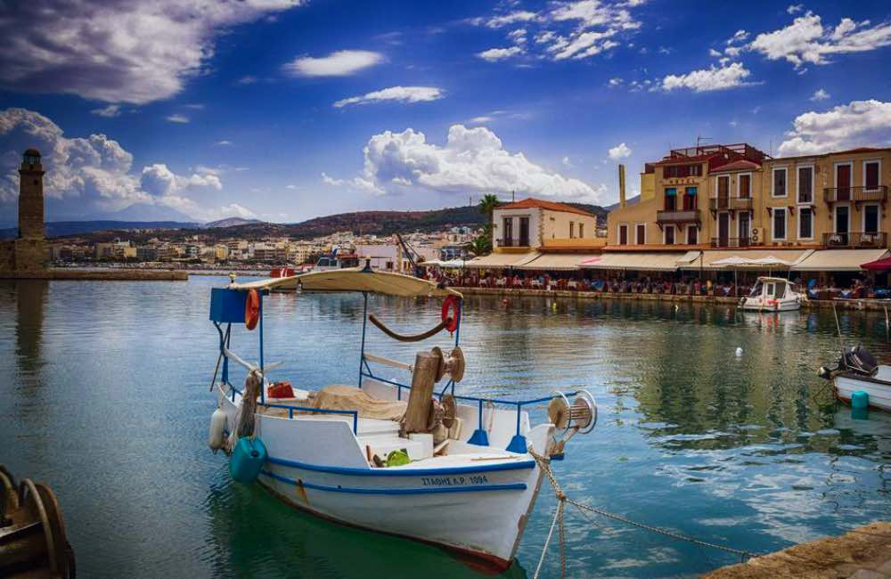 GREECE - CRETE - RETHYMNON - VENETIAN PORT
