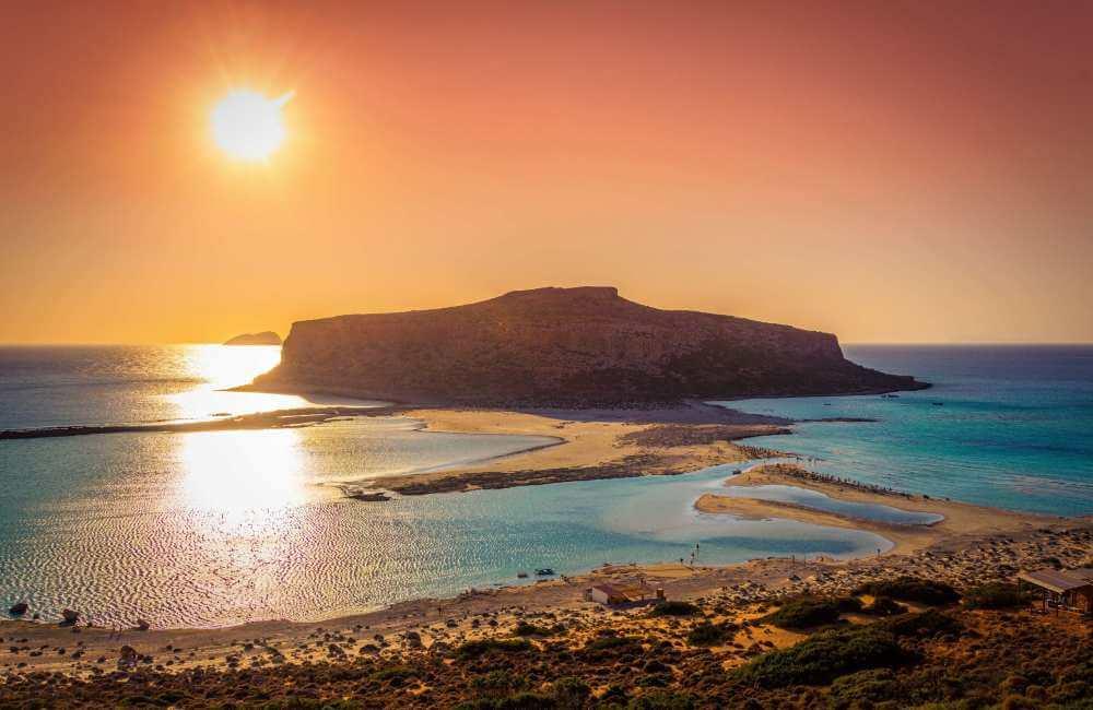 GREECE-CRETE-BALOS-SUNSET
