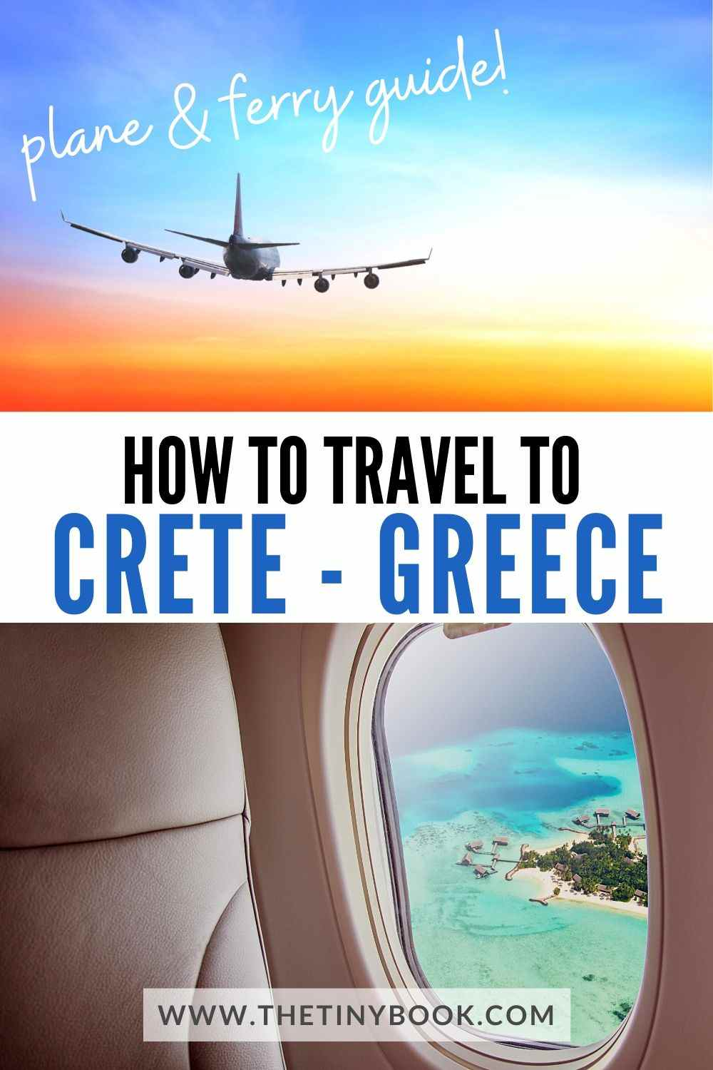 How to travel to Crete by plane or air.