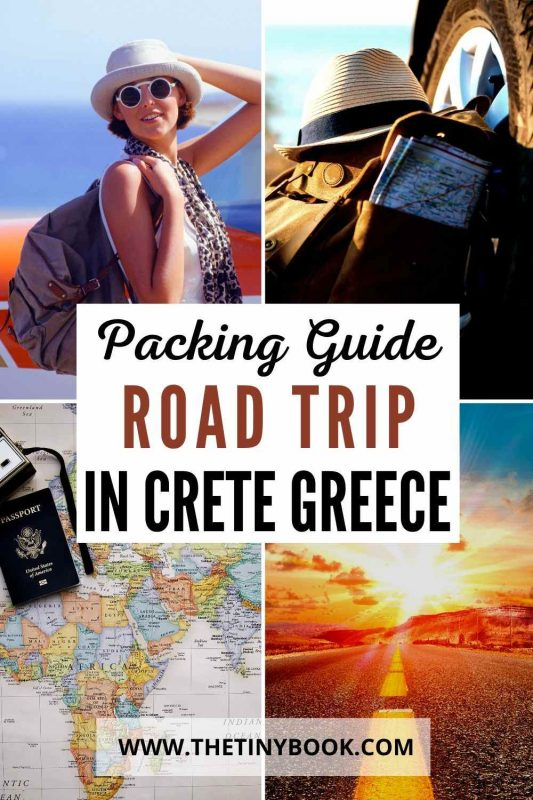 What to Pack for a Road Trip in Crete
