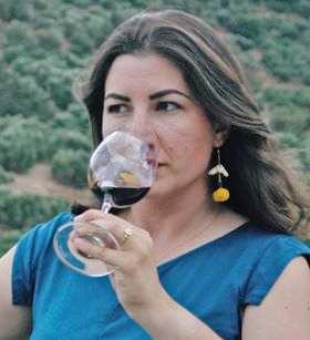 Sommelier Anna Maria Kambourakis, from Crete