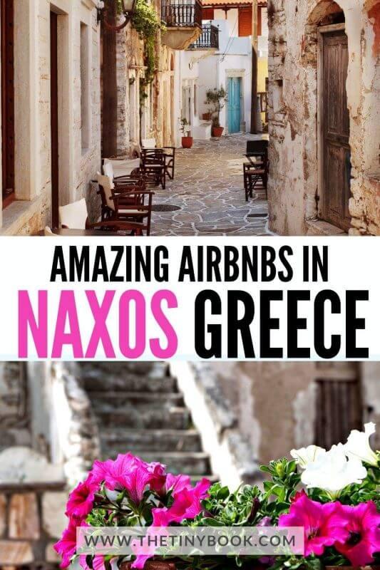 Best rental homes on Naxos island, Greece