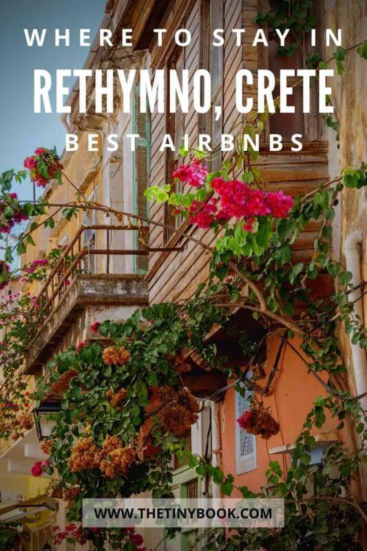 Best Airbnbs in Rethymnon, Crete