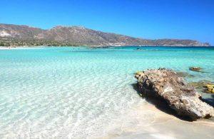 GREECE - CRETE - CHANIA - ELAFONISI BEACH