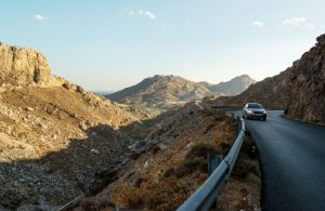GREECE - CRETE - DRIVING KOURTALIOTIKO GORGE